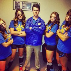 Clear eyes. Full heart. Can't lose. Friday Night Lights Halloween Costumes!