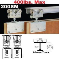 Johnson Hardware® Folding Door Hardware   aKit: MATERIALS ...