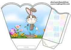 Pin by linda pieterse on box templates pinterest easter box easter egg bunny gift basketyou will need to print 2 sheets to make gift basket negle Choice Image