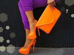 Image result for colourful sandals and purse
