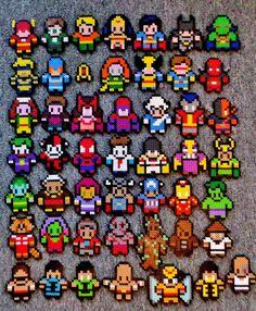 superhero-perler+beads-dante+ross-longblackfingers-blogspot-com+(2).JPG 1,179×1,432 pixels
