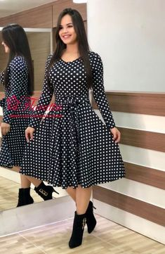 Western Dress - Western Wear 👗 Fabric Heavy Creap 👗 Inner Heavy Creap 👗 Size – L,XL,XXL 👗 Length 👗 Work :- Digital Print with belt Source by eminahrvic - Western Dresses For Women, Frock For Women, Dress Outfits, Casual Dresses, Short Dresses, Fashion Outfits, Ootd Fashion, Fashion Ideas, Fashion Beauty