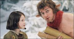 Mr. Tumnus helps Lucy get back to the wardrobe and promises not to turn her over to the White Witch--even though he knows he will be turned to stone! Now that's Courage!!