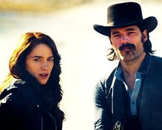 Doc Holiday can rock the hell out of that hat and mustache | 10 Reasons You Should Be Watching Wynonna Earp