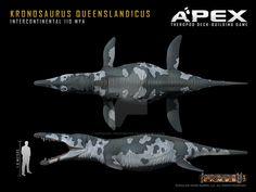 Kronosaurus queenslandicus by Herschel-Hoffmeyer on DeviantArt