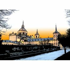 Serie gráfica Monasterio de San Lorenzo de el Escorial 6/7