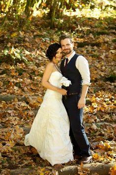 Erika christensen wedding dress