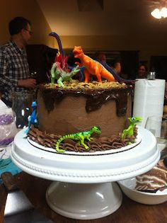 A Dinosaur Hunter party is the perfect spin on your typical Dinosaur