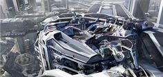 """Concept Design Academy: """"Design & Art Direction"""" with Stephan Martiniere on April 6 & 7~!!"""