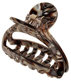 France Luxe Orleans Small Cutout Jaw  Onyx *** See this great product.(This is an Amazon affiliate link and I receive a commission for the sales)