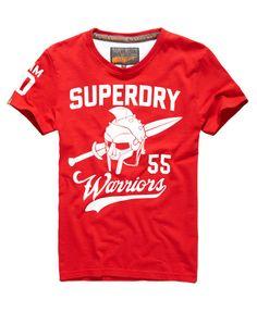 Superdry Team Warriors T-shirt