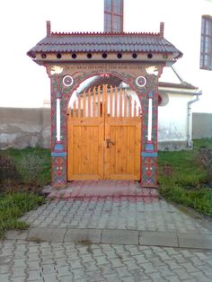 Erdely Homeland, Hungary, Folk Art, Gazebo, Outdoor Structures, Landscape, Food, Windows, Doors