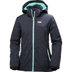 There's only one thing better than waking up to the sound of snow plows scraping the streets outside and snow blowers revving up to make way on the sidewalks. It's throwing on your Helly Hansen Women's Spirit jacket knowing full well that you'll be spending the rest of the day skiing your face off. Constructed with a waterproof, breathable Helly Tech Performance shell, this jacket is ready to plunder powder while the rest of the skiers huddle in the lodge.