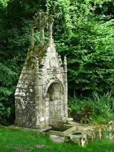 Fontaine de la Trinite à Cléguerec