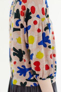 marguerite カットソー | minä perhonen @oozefina #fashion #details
