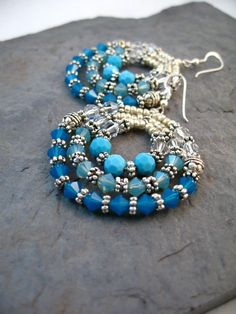 Northern Collection Earrings--Turquoise Blue
