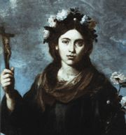 Saint Rose of Viterbo - fearless defender of the faith and the pope.