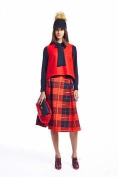 Kate Spade New York Fall 2015 Ready-to-Wear - Collection - Like the skirt