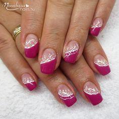 A pink színek kedvelőinek! Spring Nail Art, Spring Nails, Toe Nails, Coffin Nails, Nail Supply, Square Nails, Nagel Gel, Tips Belleza, French Nails