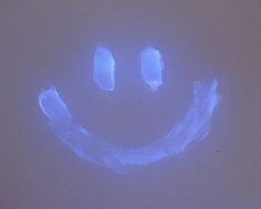 "Paint with Vaseline...turn on the black light and watch it glow. (Now I've gotta get a black light. Haven't needed one since dancing to ""Thriller"" at age 10.)"