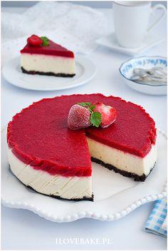 SERNIK JAGLANY NA ZIMNO #millet #cheesecake