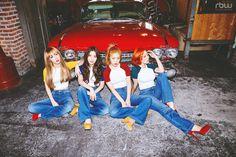 MAMAMOO - Photo teaser pour album Melting (1)