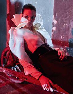 EDITORIAL: Vittoria Ceretti in Vogue Paris April 2017 by Mario Sorrenti — La Vie Est Un Songe —    Photography: Mario Sorrenti,   Model: Vittoria Ceretti,   Styling: Anastasia Barbieri,   Hair: Recine,   Make-Up: Karim Rahman,   Manicure: Brenda Abrial.