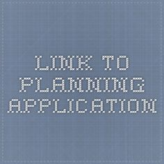 Link to planning application
