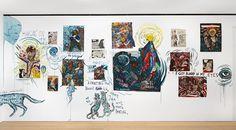 Marcel Dzama and Raymond Pettibon: Let us compare mythologies @ David Zwirner, London