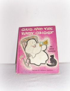 Children's Story Book Gus And The Baby Ghost by SheCollectsICreate