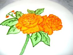 You have to see Hand Painted Rose on Craftsy!