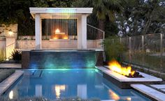 The Sizzle of Fire and Water | Outdoor Living/Fire Features ...
