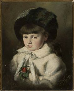 Harasimowicz Marceli (1859-1935) Painting For Kids, Children Painting, Digital Museum, National Museum, Marcel, Art Girl, Clip Art, Victorian, Culture