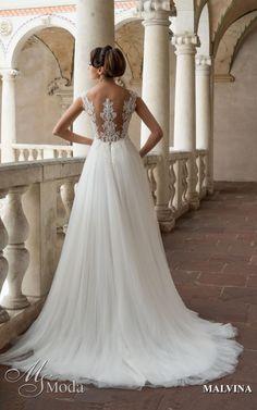 MALVINA - MS Moda - Evita Lace Wedding, Wedding Dresses, Loki, Ms, Fashion, Bride Dresses, Moda, Bridal Gowns, Fashion Styles