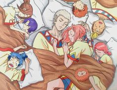 THIS IS JUST WONDERFUL IT JUST MAKES ME WANT TO CRY!!!!!!!!!! I want an ova so much of them even more @pixiv