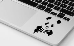 Macbook decal panda vinyl sticker mac panda decal dope transfer graphic laptop…