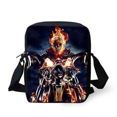 Skull Casual Messenger Bag