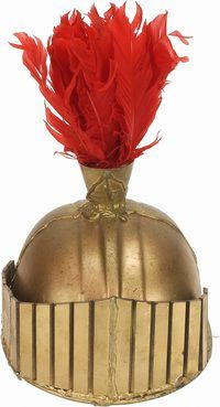 costume helmet how-to for a Roman Soldier or for an Armor of God - Helmet of Salvation project! Roman Soldier Helmet, Roman Soldier Costume, Roman Helmet, Centurion Helmet, Biblical Costumes, Roman Costumes, Helmet Of Salvation, Easter Play, Roman Armor