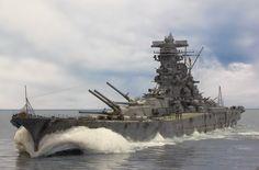 IJN Yamato battleship by Chris Flodberg #5A