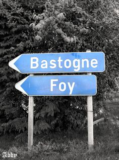 Bastogne & Foy, Belgium --- one day I shall see you for the ETO tour of WWII...one day...
