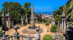 Santuario de Nossa Senhora dos Remedios en Lamego | Turismo en Portugal