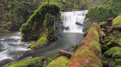 East Fork Falls in Oregon