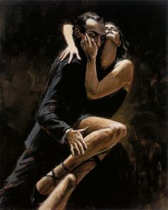 Fabian Perez Stusy for Tango painting is shipped worldwide,including stretched canvas and framed art.This Fabian Perez Stusy for Tango painting is available at custom size. Fabian Perez, Danse Latino, Latino Dance, Tango Art, Tango Dancers, Dance Paintings, Dance Photos, Dance Photography, Love Art