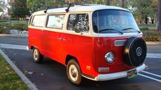 1970 VW Bus .this was my divorce car. it was  rust bucket but I drove it to Montana and back.