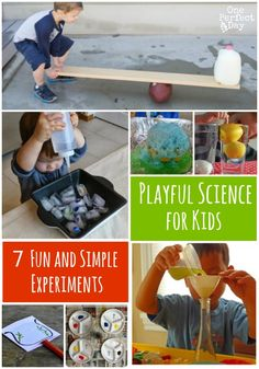 Simple Science Experiments for Kids - One Perfect Day