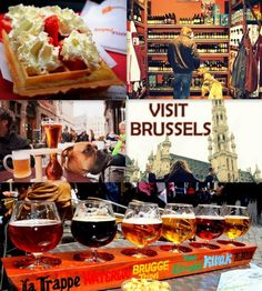 Travel & visit Brussels, Belgium: TOP 10 THINGS TO SEE (& NOT TO SEE) IN BRUSSELS one hour from Bruges in the land of chocolate, waffles and beer