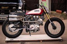Virago 535, Yamaha Virago, Yamaha Motorcycles, Custom Motorcycles, Custom Bikes, Brat Motorcycle, Brat Bike, Motorcycle Design, Virago Cafe Racer
