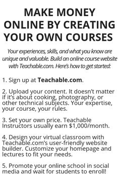 Make Money Online By Creating Your Own Courses - Wisdom Lives Here