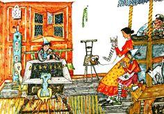 Alois Carigiet Antique Books, Lions, My Arts, Vintage, Antiques, Children Books, Book Illustrations, Prints, Panthers