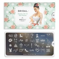 Whether you're the bride or the bridesmaid or simply helping to celebrate, will tie that outfit together perfectly with instant elegance to your style. Little Designs, Stamping Plates, Bridal Collection, You Nailed It, Color Combinations, Cupcake, Nail Art, Bridesmaid, London